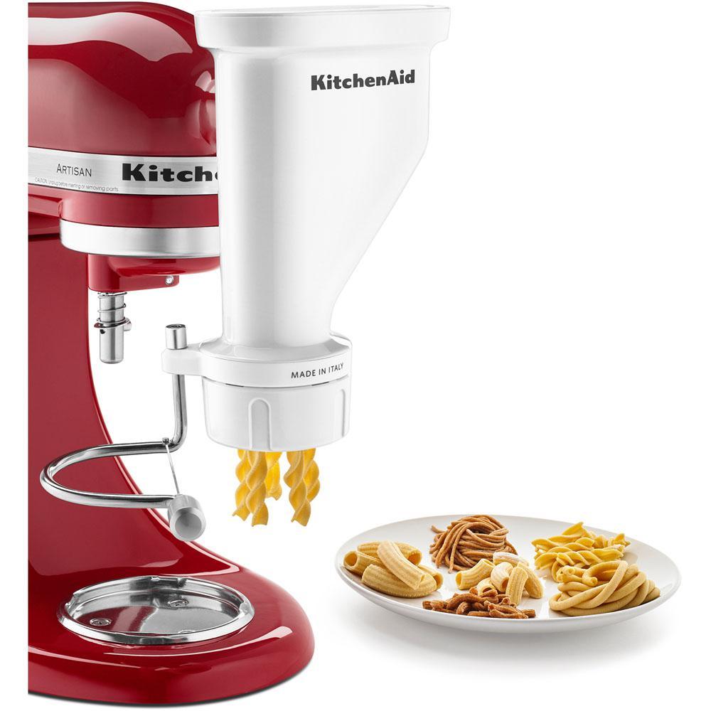 ... Extruder Attachment Gourmet Pasta Press Attachment Stand Mixers 6 Interchangeable Types No Tax Ebay Kitchenaid Kpexta ...