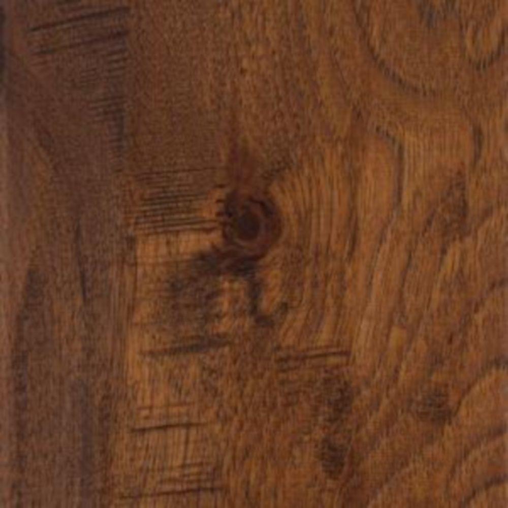 Take Home Sample - Distressed Barrett Hickory Click Lock Hardwood Flooring - 5 in. x 7 in.