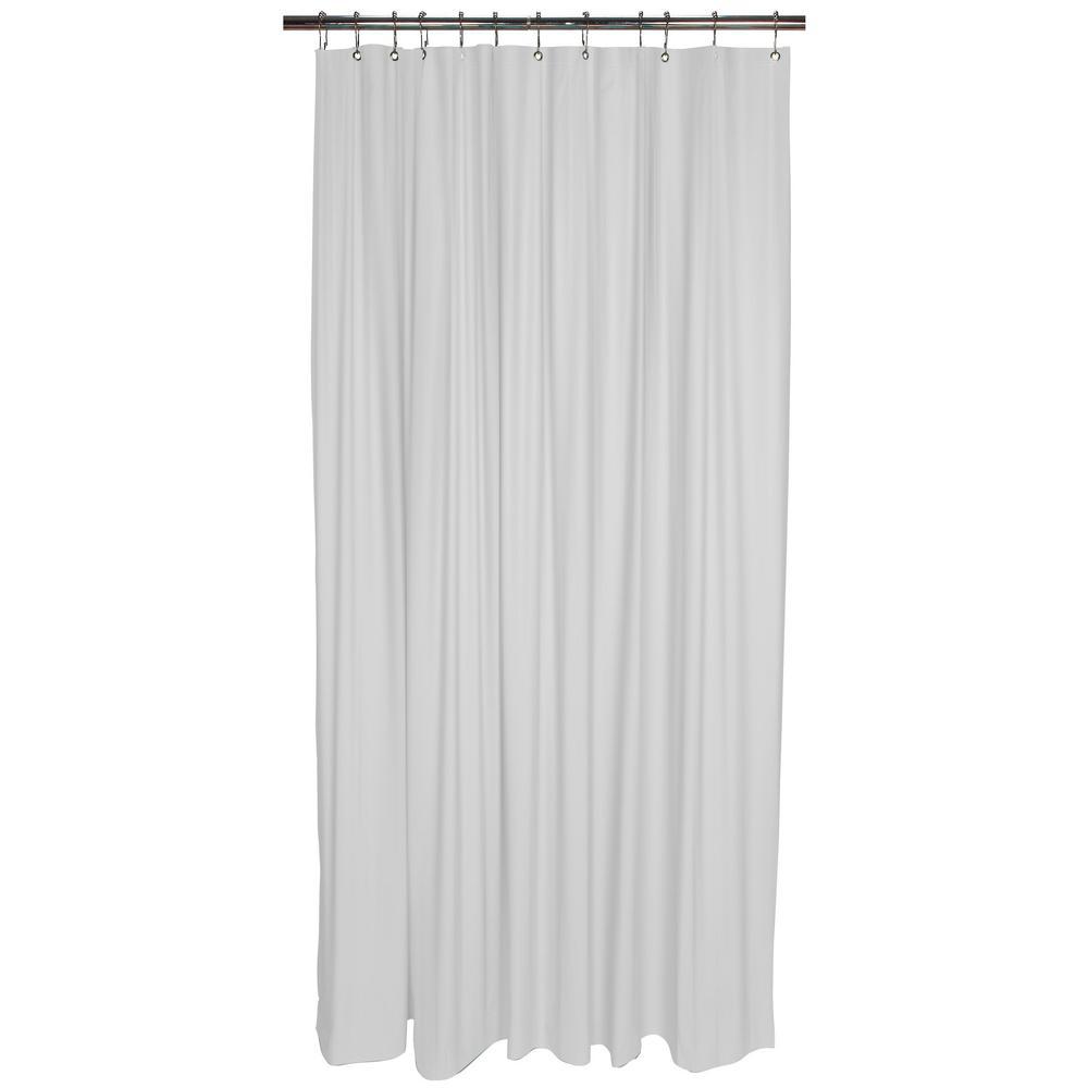 Shower Liner in White