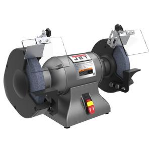 Click here to buy JET 1 HP 10 inch Industrial Metalworking Bench Grinder, 115/230-Volt IBG-10 by JET.