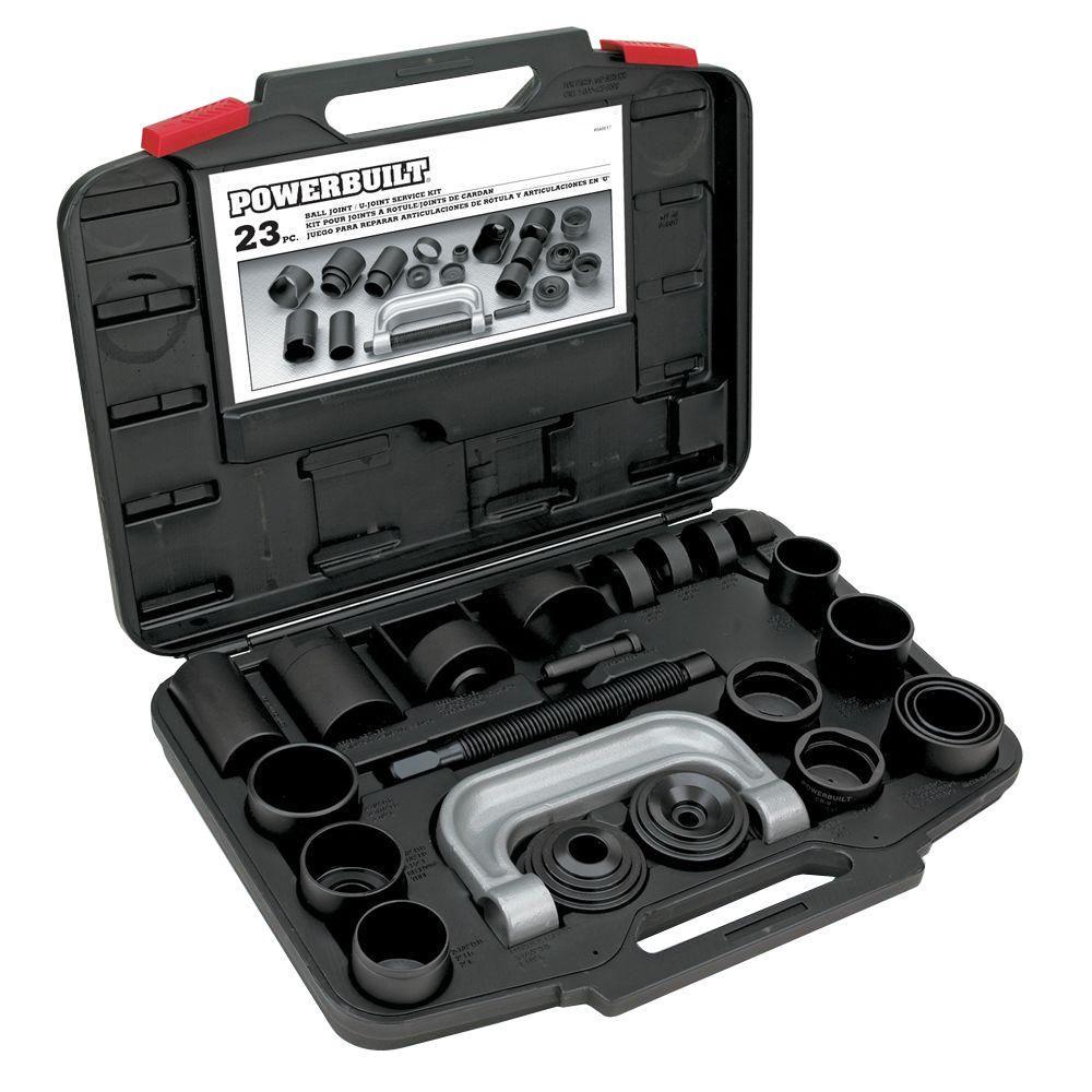 Powerbuilt 23-Piece Ball Joint/U-Joint Service Kit