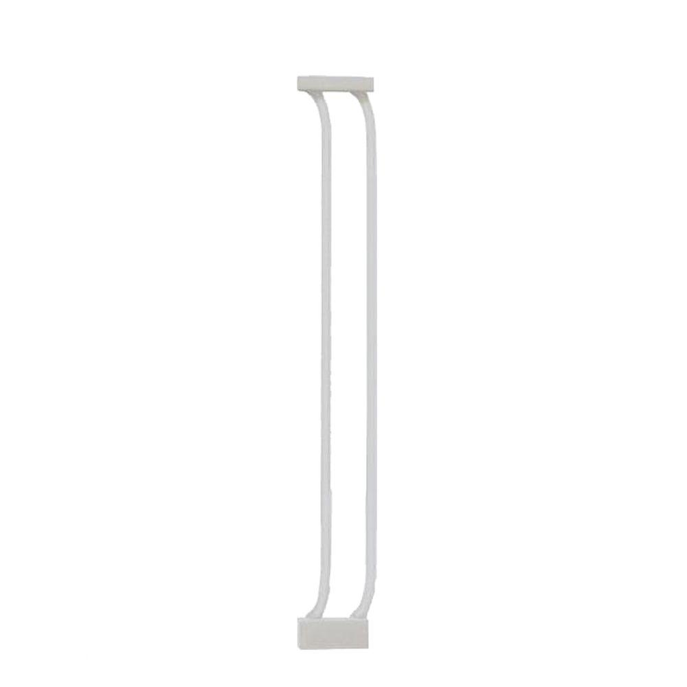 3.5 in. Gate Extension for White Chelsea Standard Height Child Safety