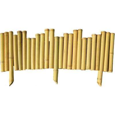 7/8 in. x 8 in. x 23 in. Natural Bamboo Edging (5-Pieces)