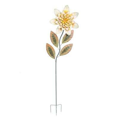 Large Yellow Flower Garden Stake