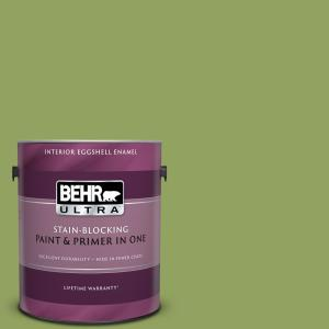 1 gal. Home Decorators Collection #HDC-MD-15 Zesty Apple Eggshell Enamel Interior Paint & Primer