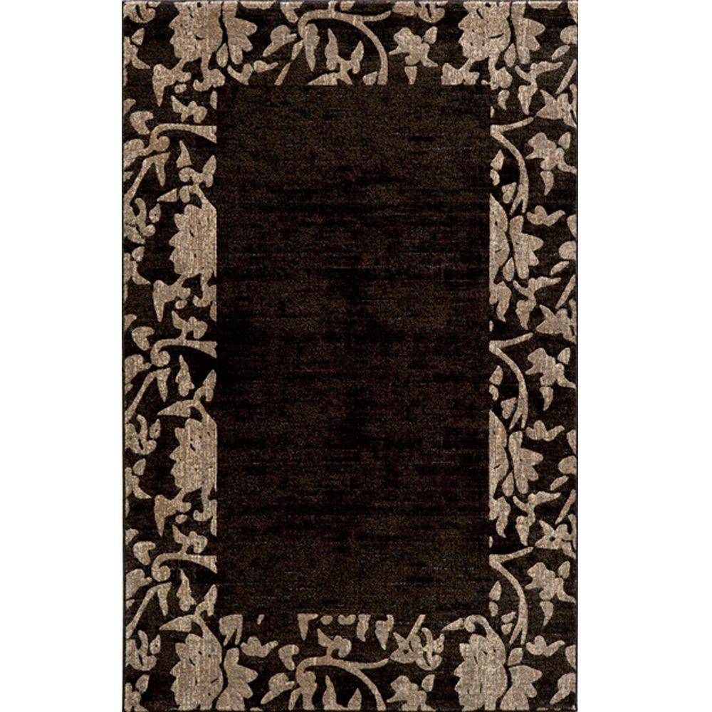 Momeni Marvelous Charcoal 7 ft. 10 in. x 9 ft. 10 in. Indoor Area Rug