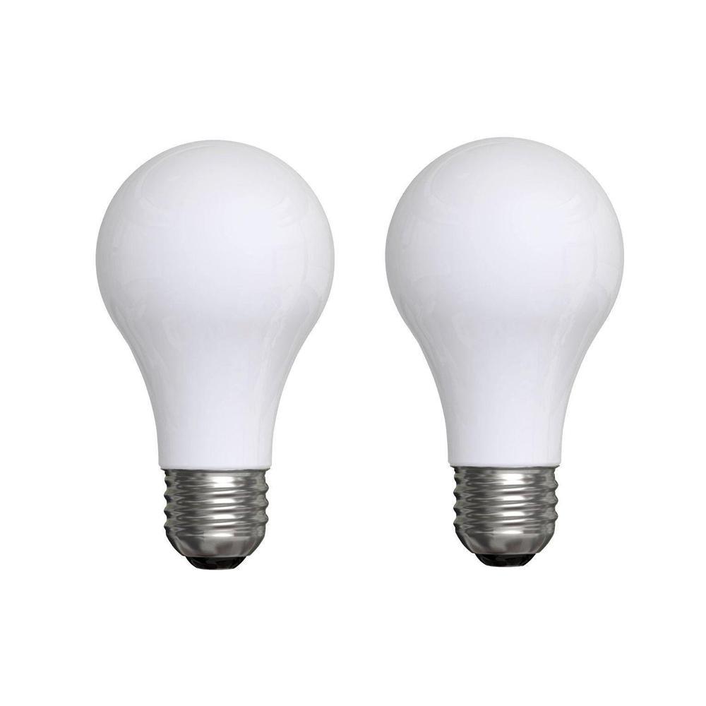 ge 50 100 150 watt incandescent a21 3 way soft white light bulb 2 pack twm24 50 150 twn the. Black Bedroom Furniture Sets. Home Design Ideas