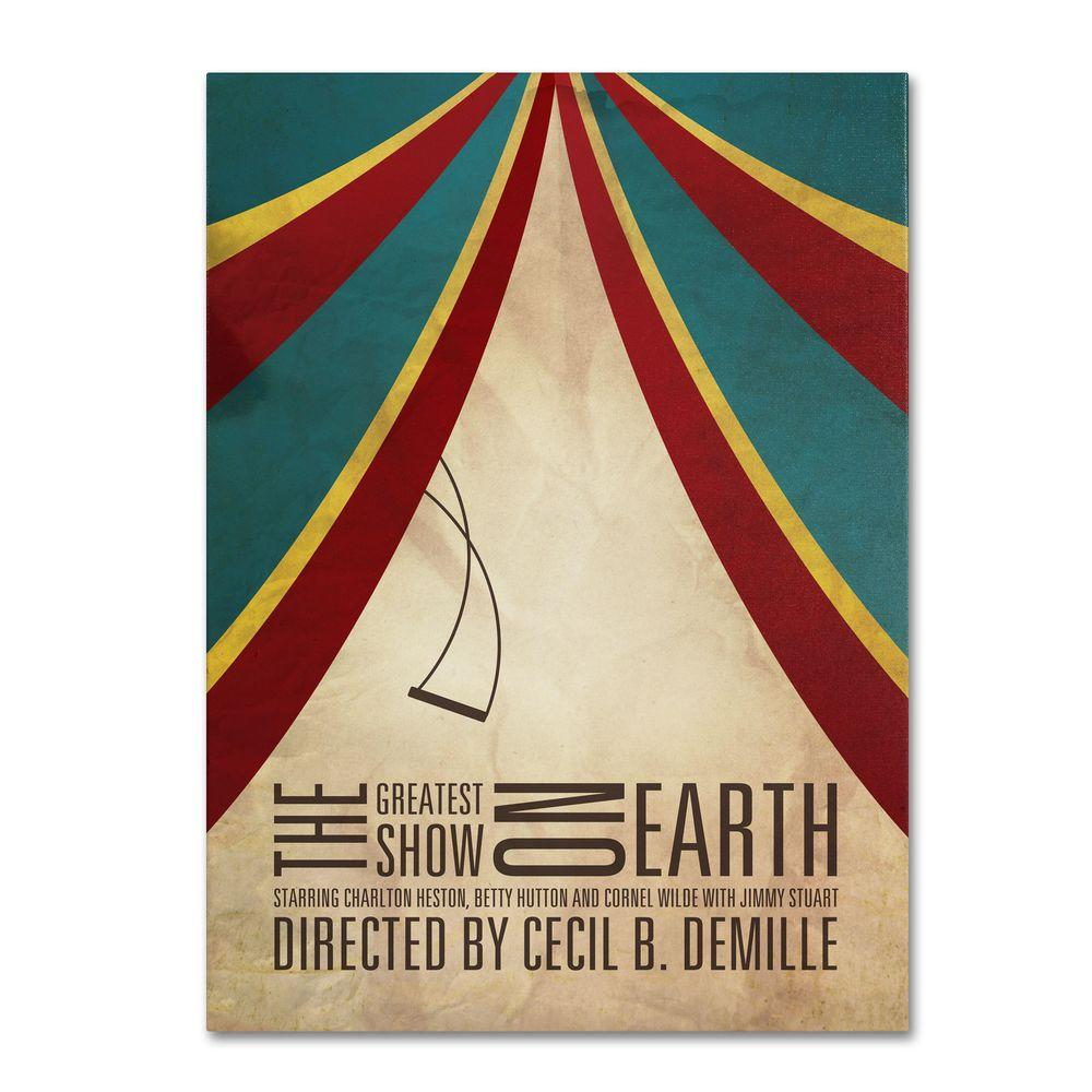 22 in. x 32 in. Greatest Show on Earth Canvas Art