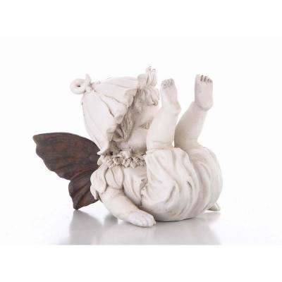 Baby Fairy Fall Down Statue