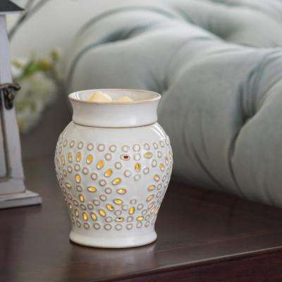 7.3 in Casablanca 2-in-1 Flickering Fragrance Warmer