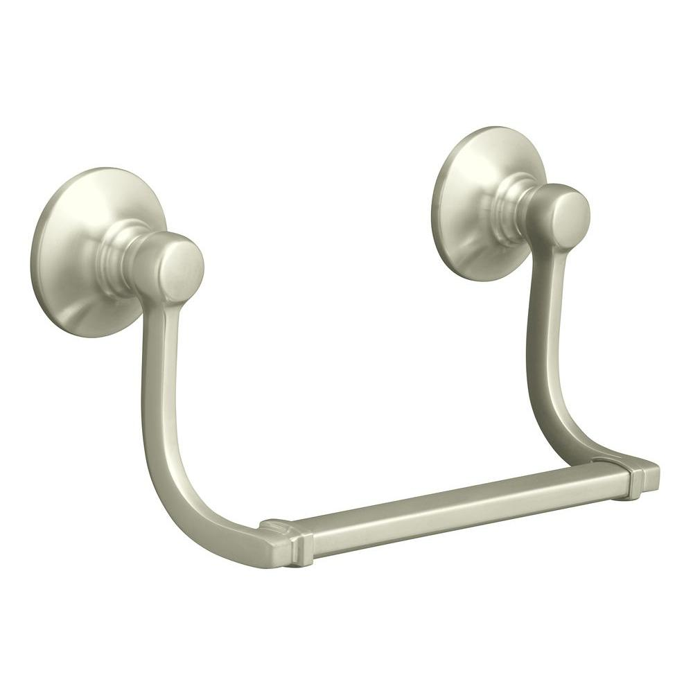 Kohler Bancroft Hand Towel Holder In Vibrant Brushed Nickel