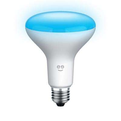 PRISMA Drop 65W Equivalent Multi-Color BR30 Smart LED Light Bulb