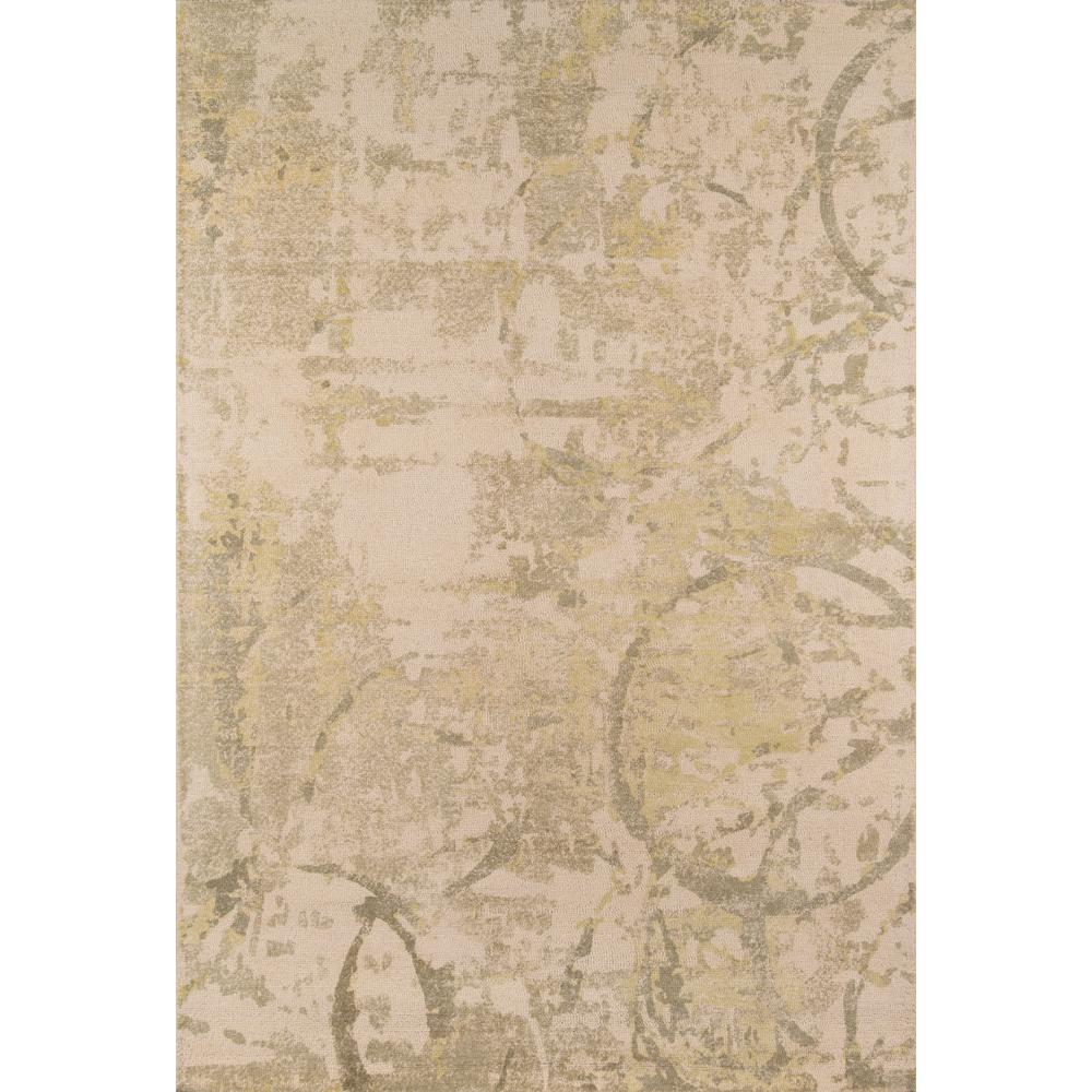 Momeni Illusions Olive Green 5 Ft X 8 Indoor Area Rug
