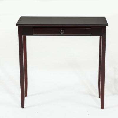 Espresso Single Drawer Console Table
