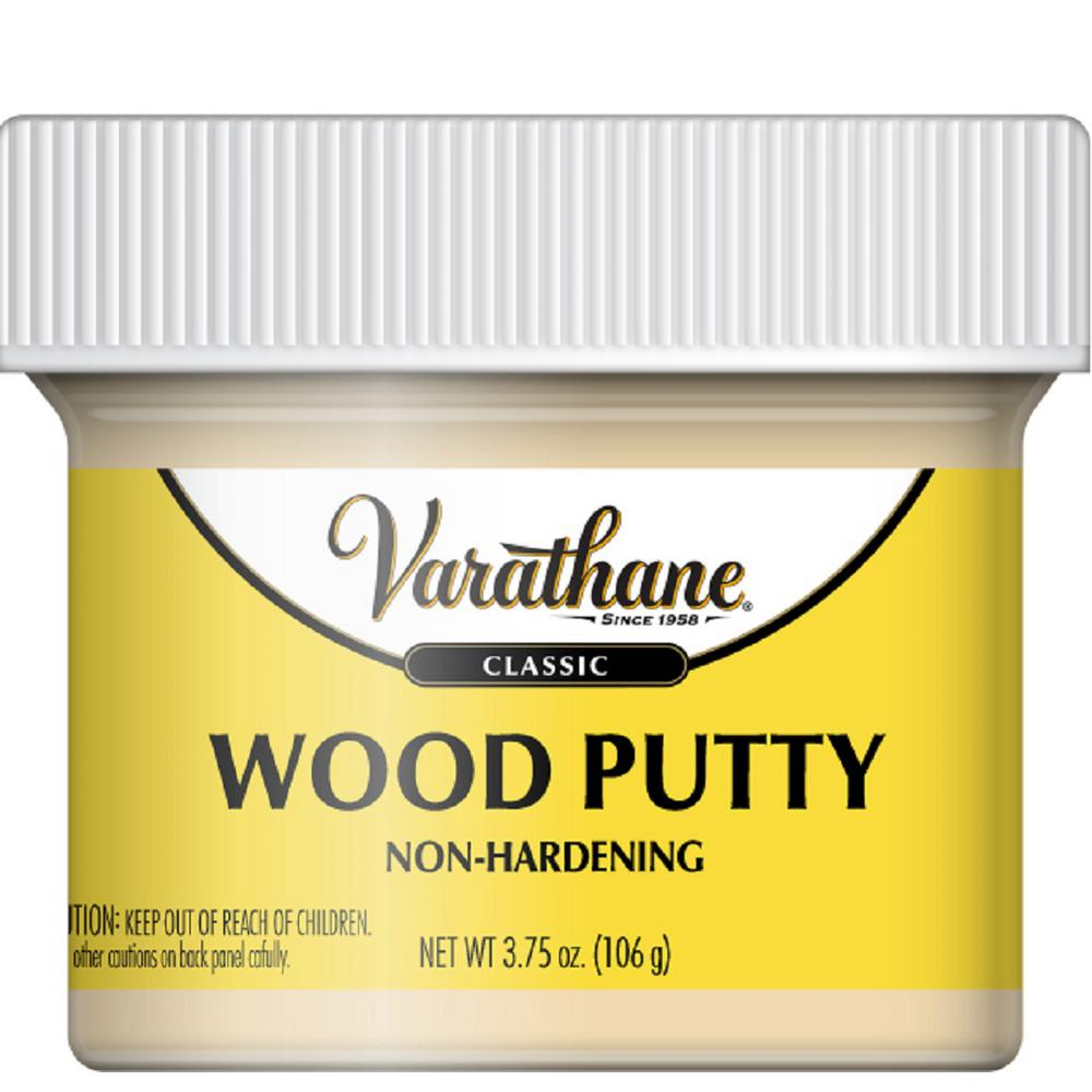 Varathane 3.75 oz. Natural Pine Wood Putty-340264 - The Home Depot