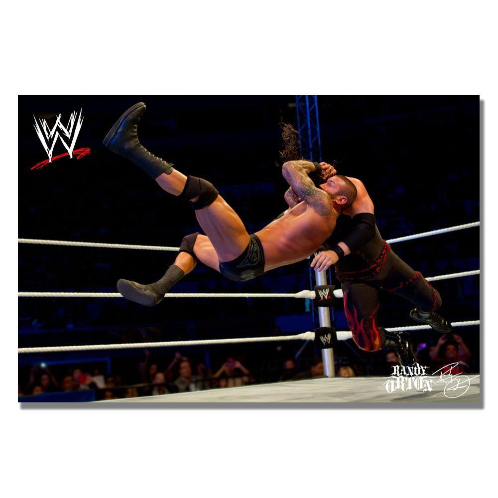 null 16 in. x 24 in. Officially Licensed WWE Randy Orton I Canvas Art