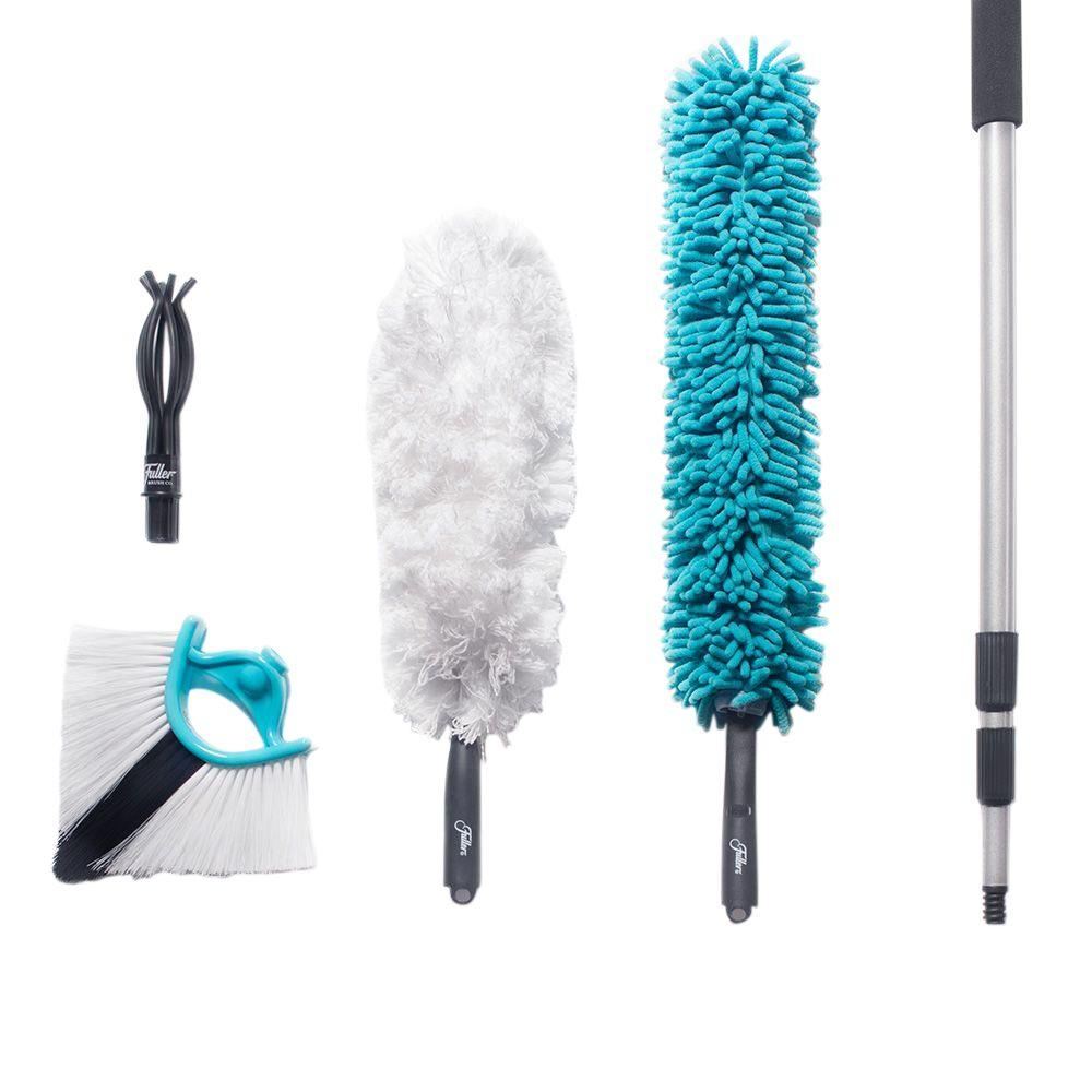 Fuller Brush 11 Ft Full Connect Cleaning Kit 5 Piece
