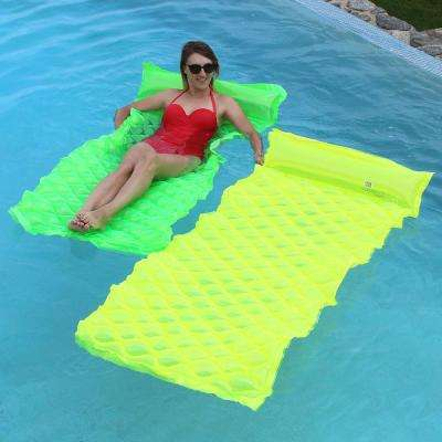 Green and Yellow Smart Pool Float (2-Pack)