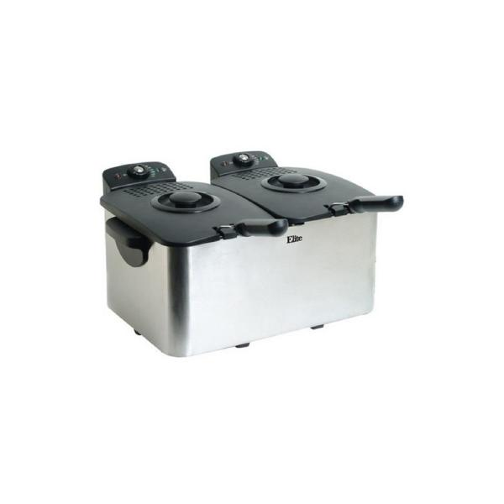 Elite Platinum Non-Stick Enamel Deep Fryer