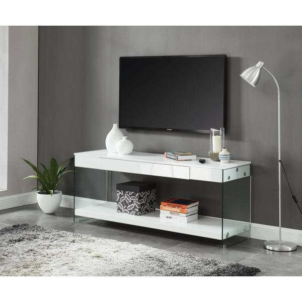 Furniture Of America Jubilee White 60 In Tv Stand Idf 5206wh Tv60