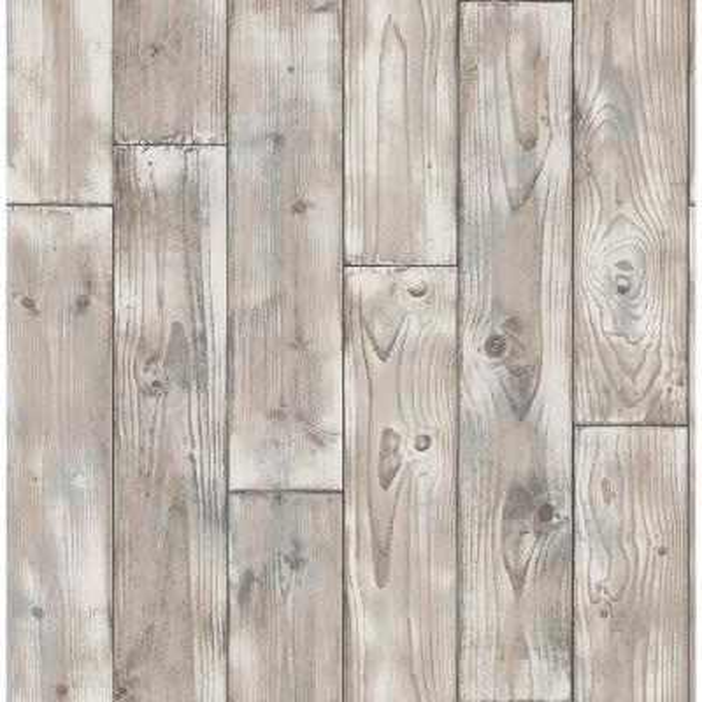 8 in. x 10 in. Niantic Blue Drift Wood Wallpaper Sample