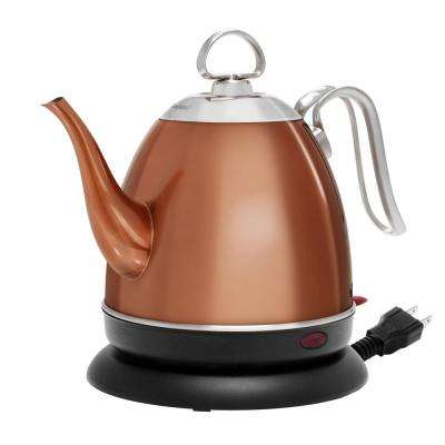 Mia 4-Cup Electric Kettle in Copper