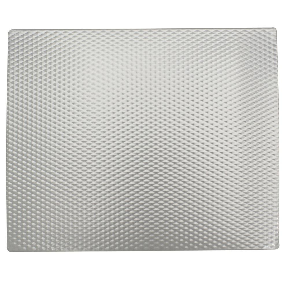 RangeKleen Range Kleen 17 x 20 in. Silverwave Counter Mat, Silver textured