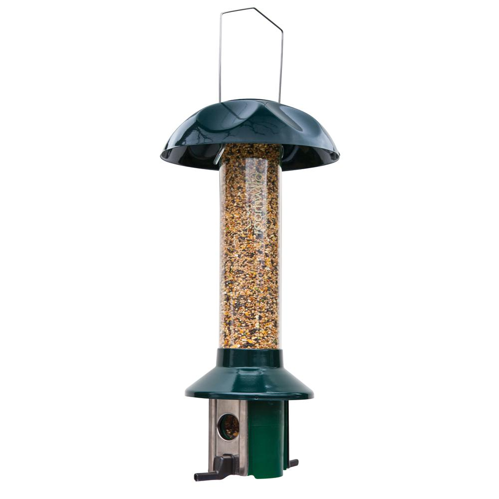 wild stations feeder squirrel amazon feeding capacity pounds four bird brown grande garden x seed feeders com dp tube proof
