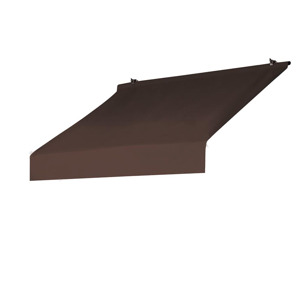 Awnings In A Box 4 Ft Designer Awning Replacement Cover In Cocoa