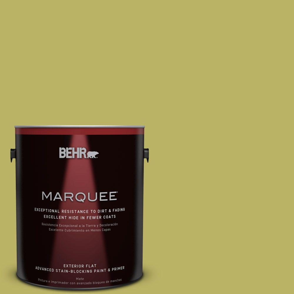 BEHR MARQUEE 1-gal. #PPU9-6 Riesling Grape Flat Exterior Paint