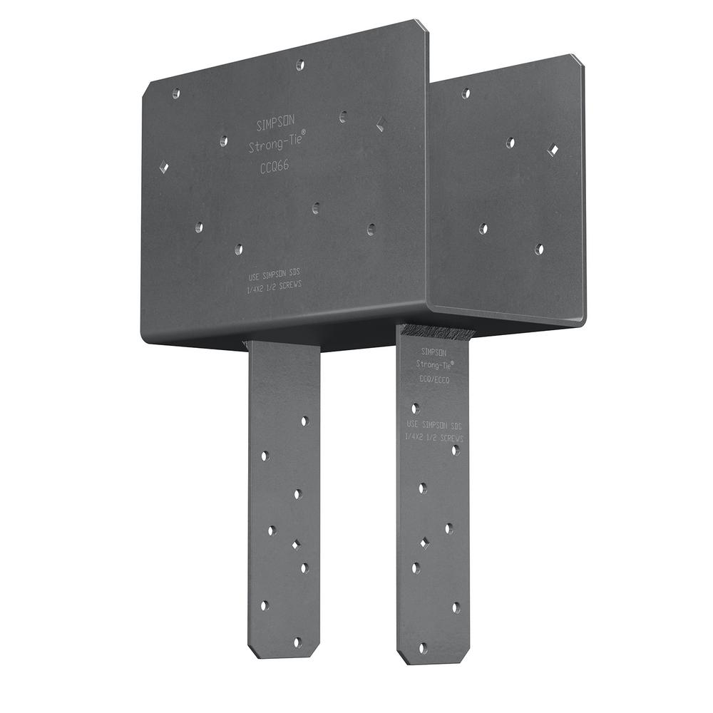 Simpson Strong-Tie 6-Beam 6-Post Column Cap with Strong-Drive SDS Screws
