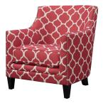 undefined Deena Red Accent Chair
