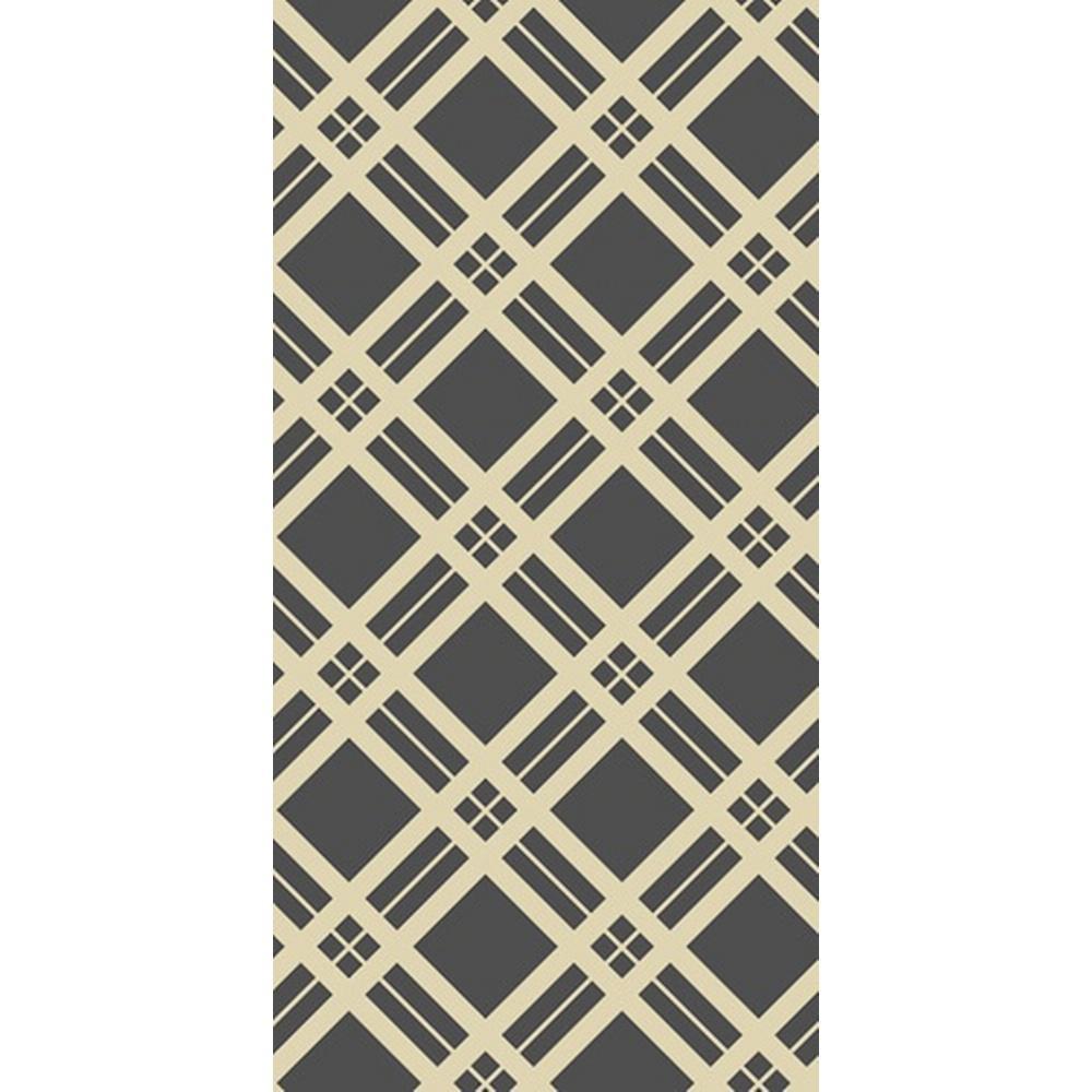 CGSignLab Diagonal Plaid Thick by Circle Art Group Removable Wallpaper Panel