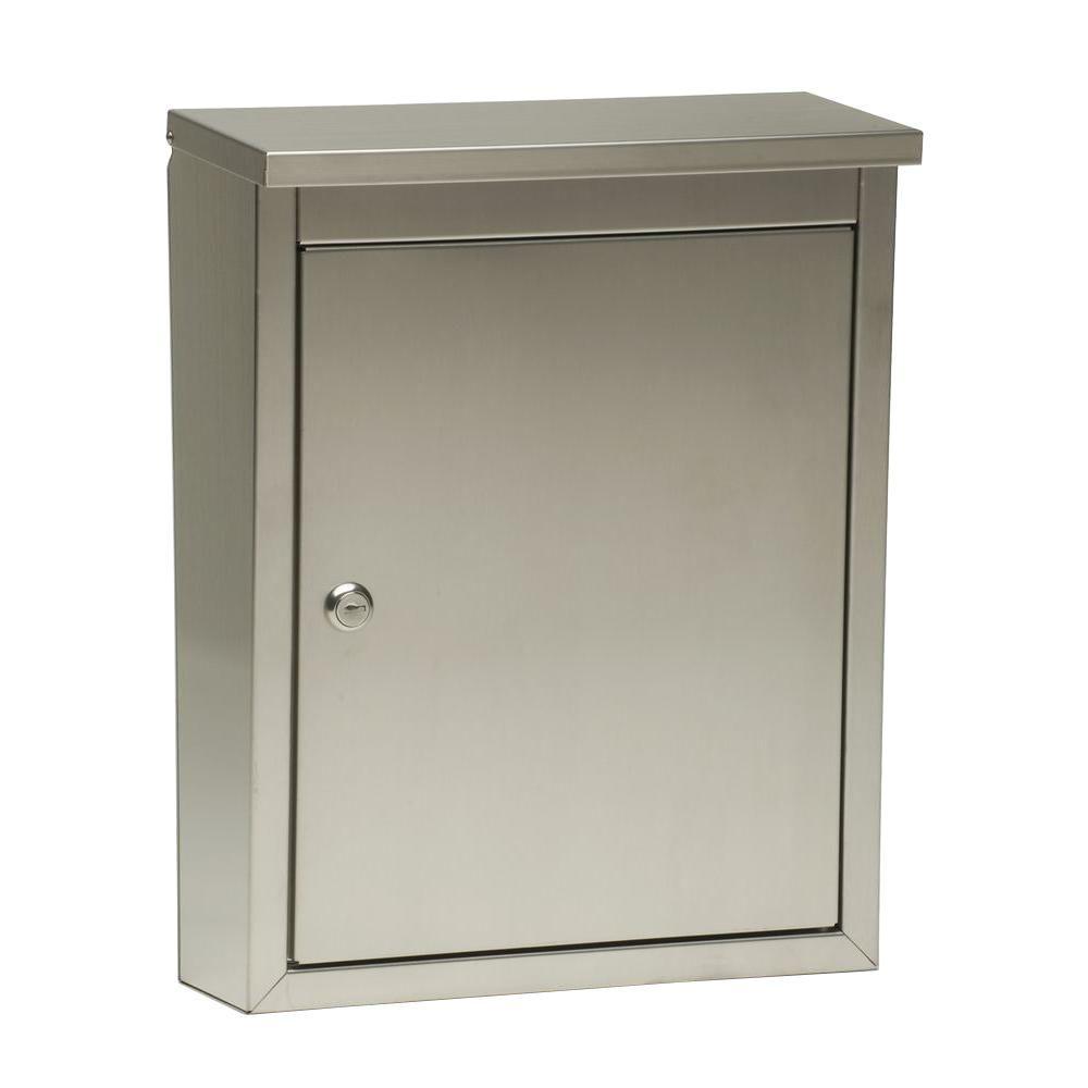 metropolis wallmount locking mailbox - Lockable Mailbox