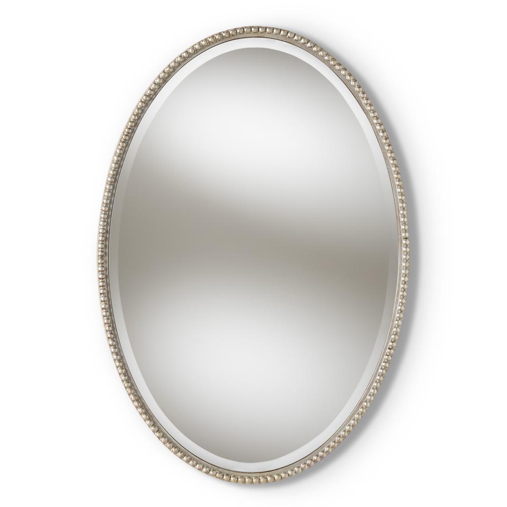 Graca Antique Silver Wall Mirror