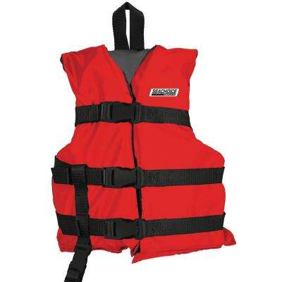 General Purpose Vest for Child, Red