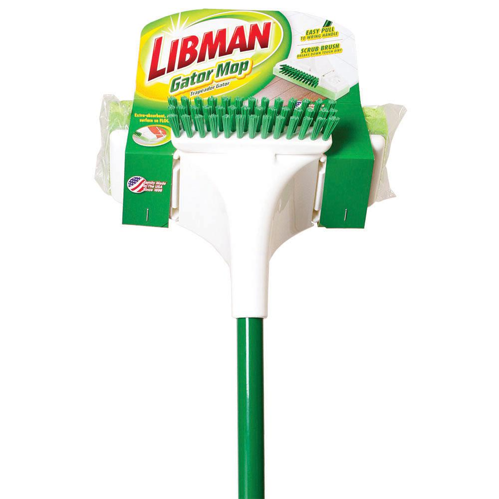 Libman Large Precision Angle Broom mit Kehrschaufel