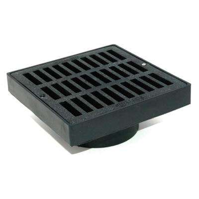 6 in. Plastic Structural Foam Polyolefin Grate Adapter