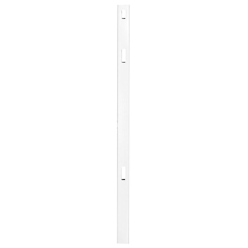 Pro Series 5 in. x 5 in. x 8 ft. White