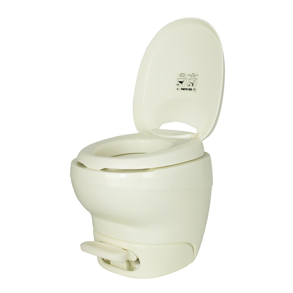 Aqua-Magic High Profile Bone Bravura Portable Toilet