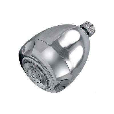 Earth Massage 3-Spray 2.0 GPM 2.6875 in. Fixed Showerhead Contractor in Chrome (Pack of 50)