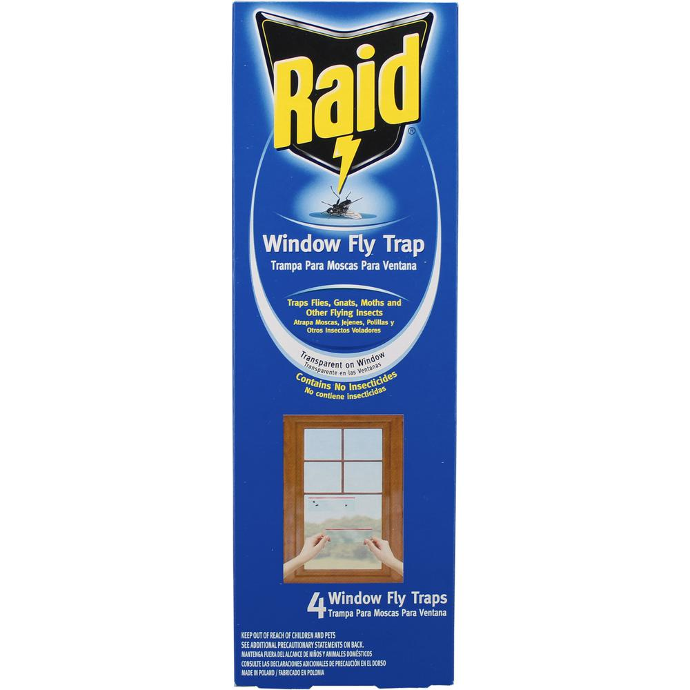 Raid Window Fly Trap (4- Pack)