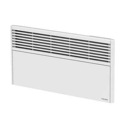 Orleans Low 50-1/4 in. x 13 in. 2000-Watt 240-Volt Forced Air Electric Convector in White with Built-in Thermostat