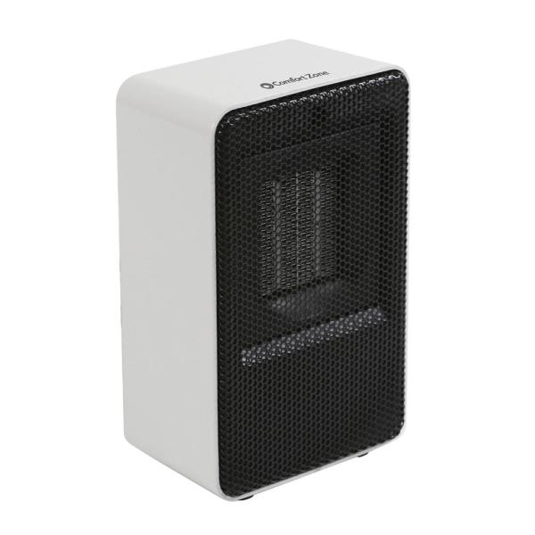 Personal Electric Desktop Ceramic Space Heater, White