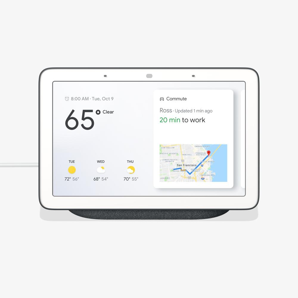 Google Home Hub Charcoal Ga00515 Us The Depot Decora 15 Amp 4way Switch Whiter58056042ws