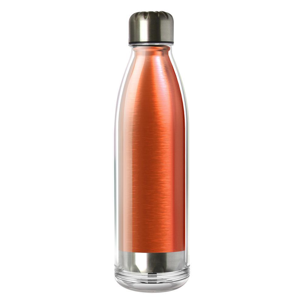 ASOBU Viva La Vie 18 oz. Blue Water Bottle SP04ORANGE