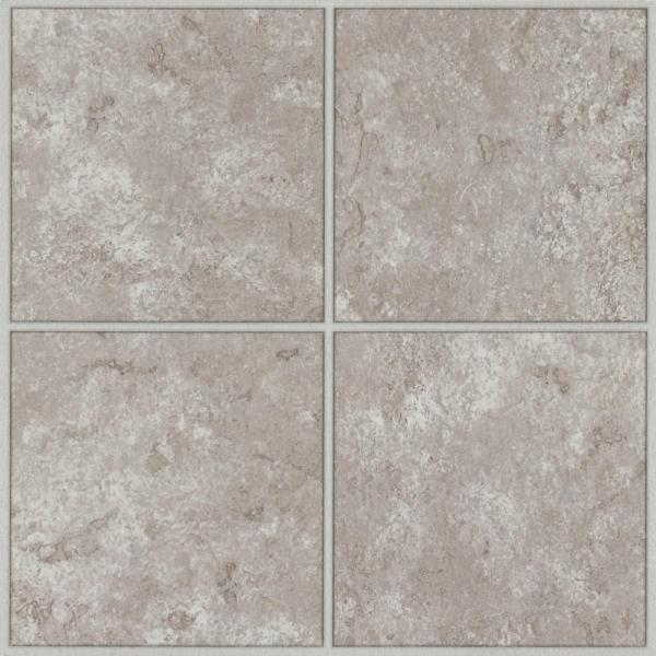 Columbia Court White Taupe 12 in. x 12 in. Residential Peel and Stick Vinyl Tile Flooring (45 sq. ft. / case)