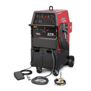 Lincoln Electric 420 Amp Precision TIG 375 TIG Welder Ready-Pak, Single Phase, 208V/230V/460V by Loln Electric