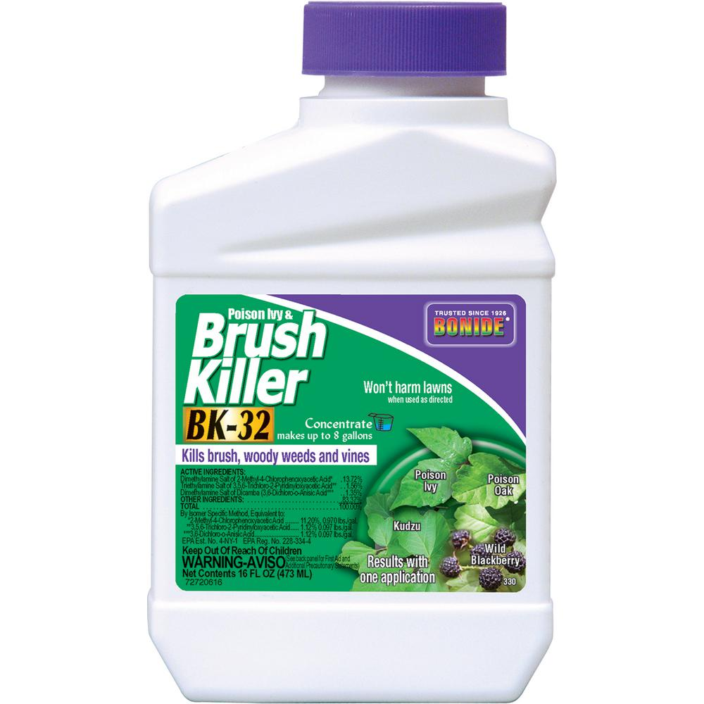 BONIDE 16 oz. Poison Ivy and Brush Killer Bk-32 Concentrate