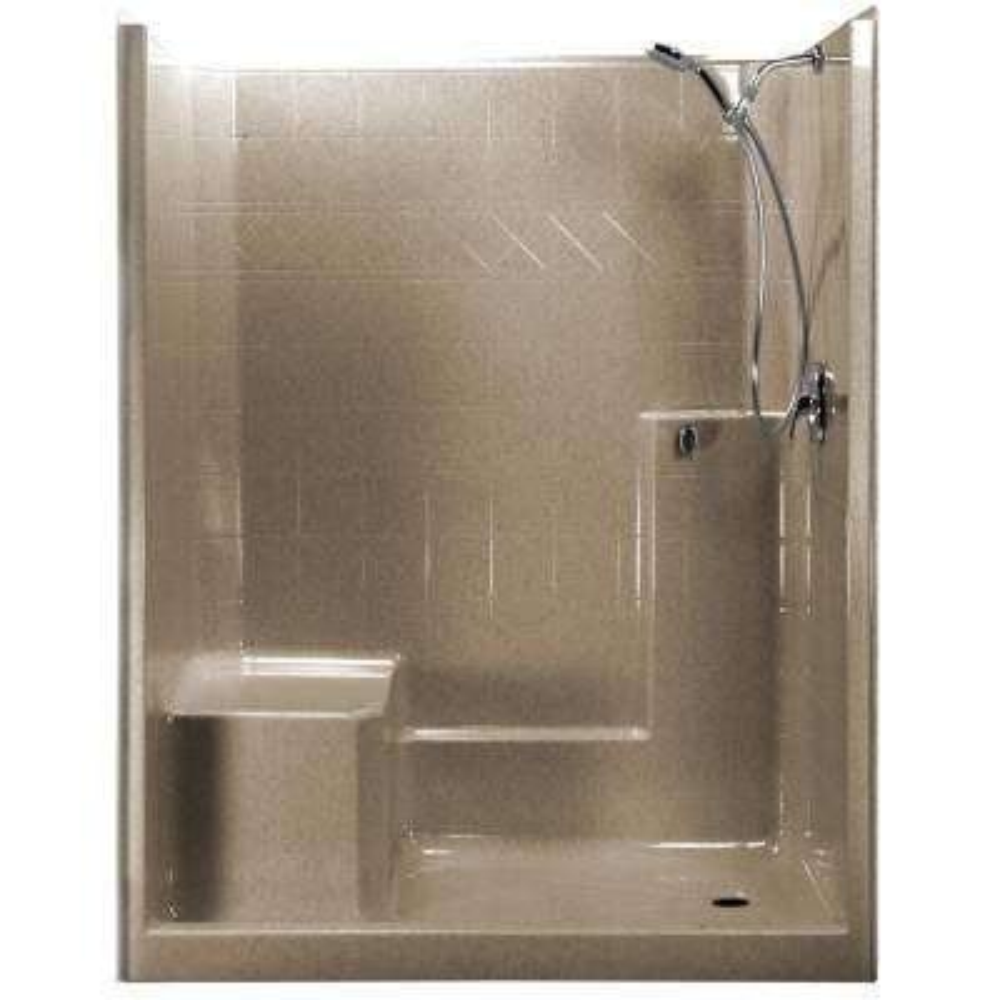 Right - Fiberglass - Shower Stalls & Kits - Showers - The Home Depot
